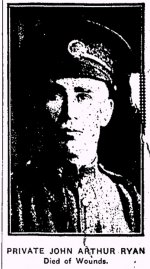 Newspaper Clipping– From the Renfrew Mercury for 11 May 1917.