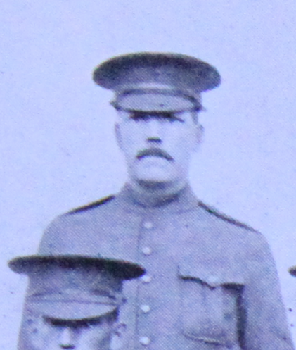 Photo of William Slack– Enrolled with the 37th Battalion CEF. Submitted for the project, Operation: Picture Me