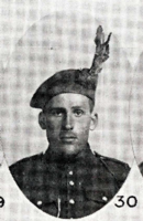 Photo of OWEN DEEBERT SOMERS– In memory of the men who joined the 185th Battalion (Cape Breton Highlanders) who went to war and did not come home. Submitted for the project, Operation Picture Me