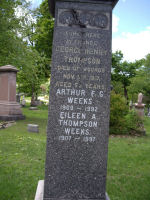 Inscription– Mount Royal Cemetery, Montreal