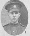Photo of Wallace Laurence Wood– In Memory of those who served in the 106th Overseas Battalion Nova Scotia Rifles.  Submitted for the project, Operation: Picture Me