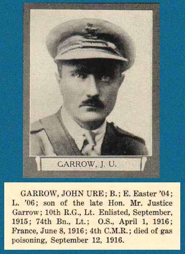 Photo of John Ure Garrow
