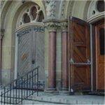 St. Andrew's Presbyterian Church– Front Entrance of St. Andrew's Presbyterian Church.