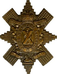 Cap Badge– Cap Badge 42nd Bn (Royal Highlanders of Canada).  Pte Gordon enlisted with the 92nd Bn (48th Highlanders of Canada) but was transferred to the 42nd Bn as a reinforcement.  Submitted by Capt (ret'd) V. Goldman, 15th Bn Memorial Project team.  DILEAS GU BRATH