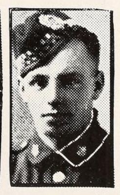 Photo of WILLIAM HENRY MITCHELL– Photo from the National Memorial Album of Canadian Heroes c.1919. In memory of the members of the 15th, 92nd and 134th Battalions (48th Highlanders) who went to war and did not return. Submitted for the project, Operation: Picture Me.