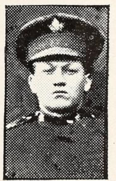 Photo of ERNEST DWYER NEWTON– Photo from the National Memorial Album of Canadian Heroes c.1919. Submitted for the project, Operation: Picture Me.