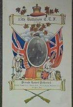 Certificate de service - Première Guerre mondiale