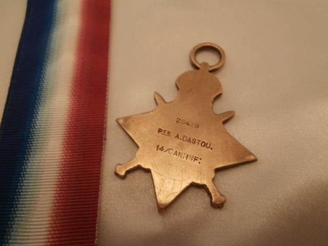 Medals– 1914-1915 Star Medal
