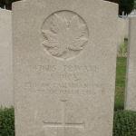Grave Marker– Grave Marker of Pte John Dick # 147885 - St Sever Cemetery, Rouen, France