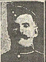 Newspaper Clipping– Pte. David Dudgeon was born in Monaghan, Ireland. He enlisted in the 166th Battalion C.E.F. on January 31st, 1916 in Toronto, and was later transferred to the 83rd Battalion.  On his military attestation it was noted that he had previously served eight years with the 48th Highlanders of Toronto, and 15 months with the Royal Canadian Regiment. His brother Andrew Dudgeon, 135131, was also born in Monaghan Ireland.  He enlisted on July 29th, 1915 in Toronto in the 74th Battalion.  In honoured memory.