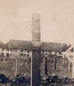 Temporary Grave Marker– Fred George Grave Marker February 1917