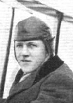 Photo of Frank Edward Goodrich– This item, which includes a photograph of F.E. Goodrich, appeared in the September 24, 1915 issue of Flight, the journal of the Royal Aero Club of the United Kingdom.