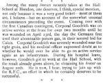 Press clipping– These comments about F. E. Goodrich appeared in the September 10, 1915 issue of Flight, the journal of the Royal Aero Club of the  United Kingdom.