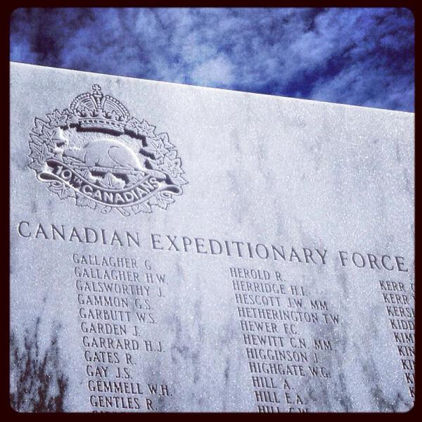 Calgary Soldiers Memorial