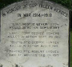 Cenotaph– Gooderingham, Ontario cenotaph