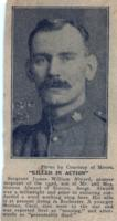 Newspaper Clipping– ALWARD, Sergeant JAMES WILLIAM - Simcoe