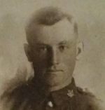 Photo of Donald Francis Coffey– Donald Coffey's Military Portrait and Medals