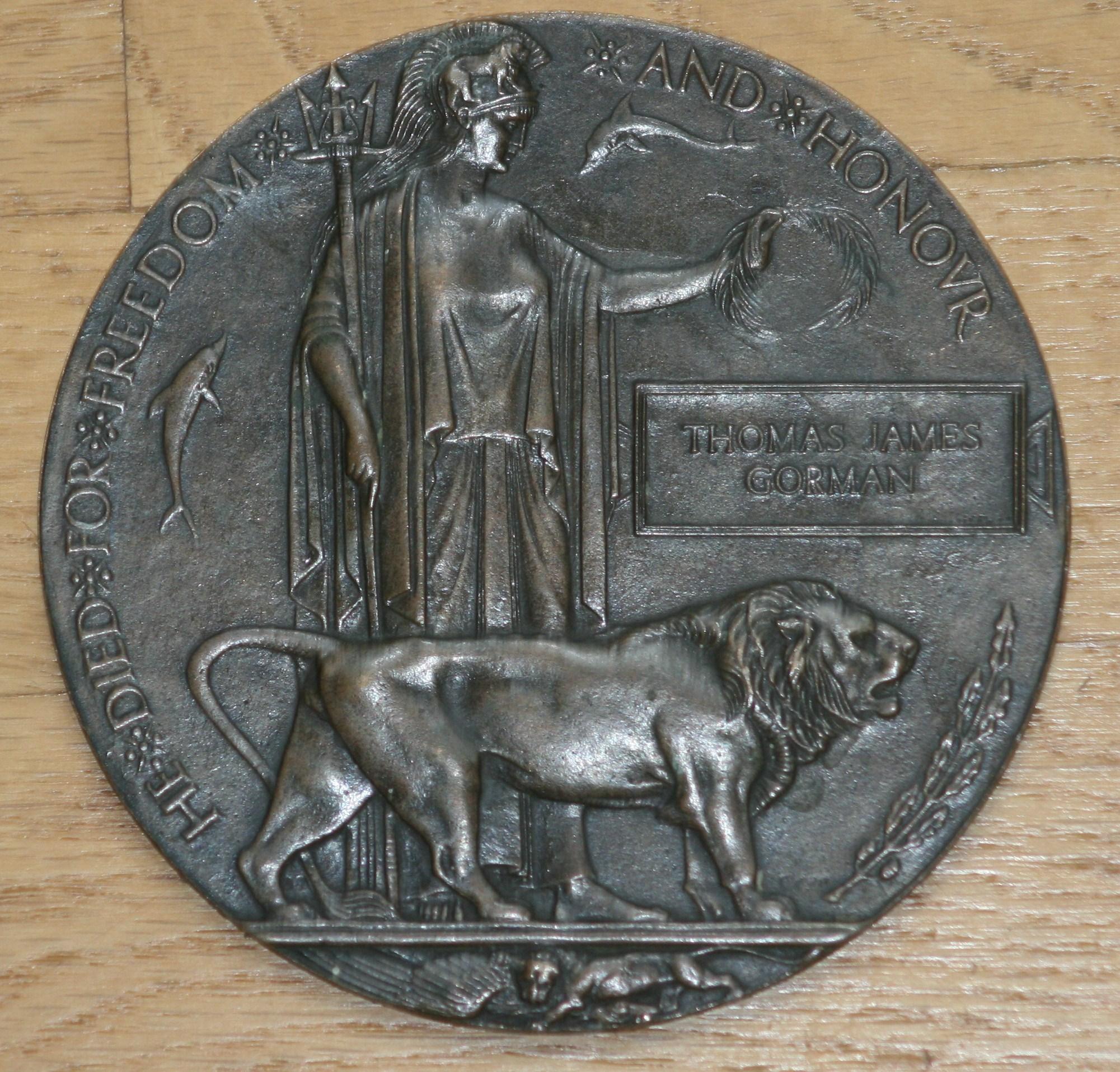 "Death Penny– Thomas Gorman's ""Death Penny""."