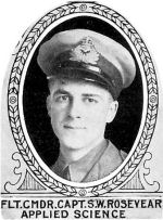 Photo of Stanley Rosevear– From: The Varsity Magazine Supplement Fourth Edition 1918 published by The Students Administrative Council, University of Toronto.   Submitted for the Soldiers' Tower Committee, University of Toronto, by Operation Picture Me.