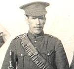 Photo of Peter Canavan– Photo of Pvt. Peter Canvan C-1916 Taken in Camp in Canada.