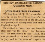 Newspaper Clipping– Newspaper clipping; source unknown.