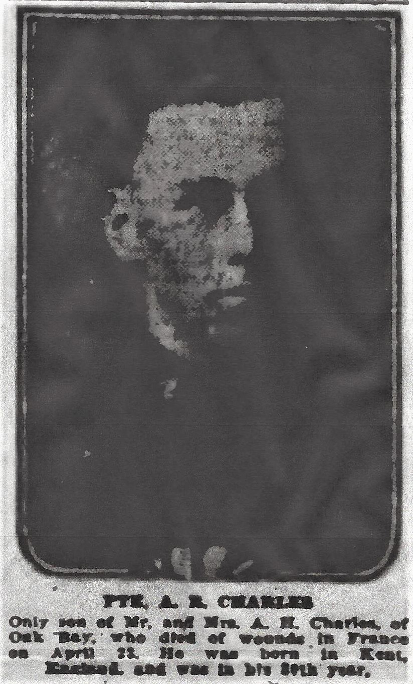 Newspaper Clipping– From the Daily Colonist of May 4, 1917. Image taken from web address of http://archive.org/stream/dailycolonist59y125uvic#page/n0/mode/1up