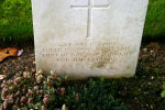 """Epitaph– Epitaph: """"Greater love hath no man than this that he lay down his life for his friends"""""""
