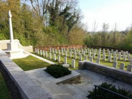 Cemetery– Here is a photo of Le Petit Vimy cemetery