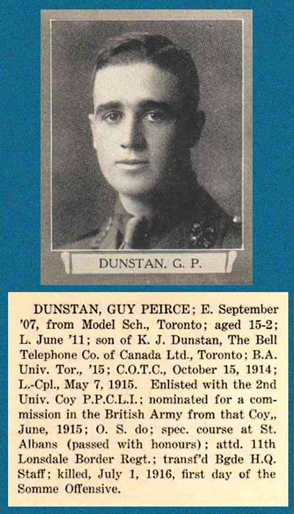 Photo of Guy Peirce Dunstan