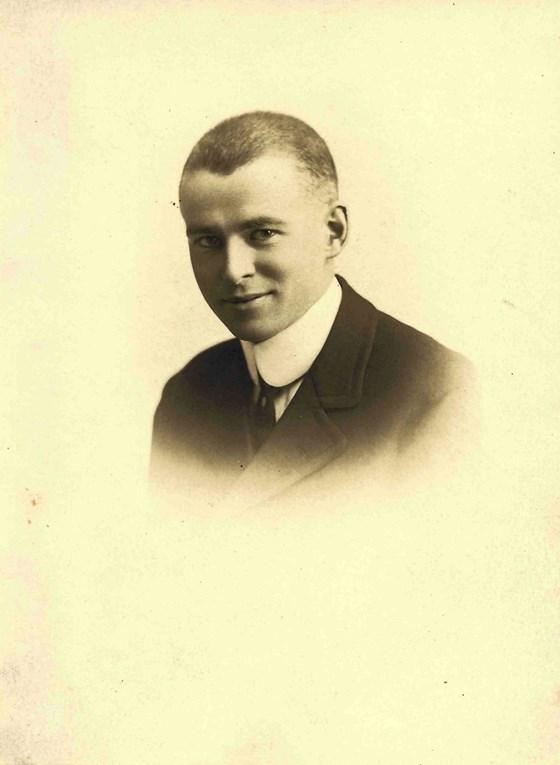 Photo of John McClelland Adie– Pre war photograph of John McClelland Adie