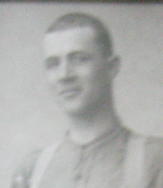 Group Photo– Daniel Bergeron. Right Pte. Alfred Bélanger.