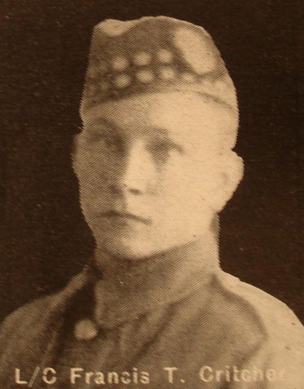 Photo of Fred Thomas Critcher