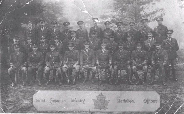 Group Photo 161 Battalion