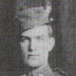 Photo of John Locey– Source:  Canada's Heroes in the Great World War / Cornwall, Alexandria, Vankleek Hill, Hawkesbury and Intermediate Points.  Edited by Noah J. Gareau. Memorial Edition / Volume I.  War Publications Limited, Ottawa, Ontario, 1921.