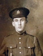 Photo of Samuel Dan Boutilier– Private Samuel Dan Boutilier of the 106th Battalion (Nova Scotia Rifles) on February 10, 1916.