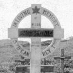 Origional grave Marker