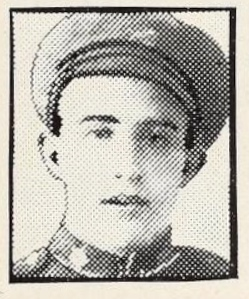 Photo of ROBERT GRENVILLE BROOKS– Photo from the National Memorial Album of Canadian Heroes c.1919. Submitted for the project, Operation: Picture Me.