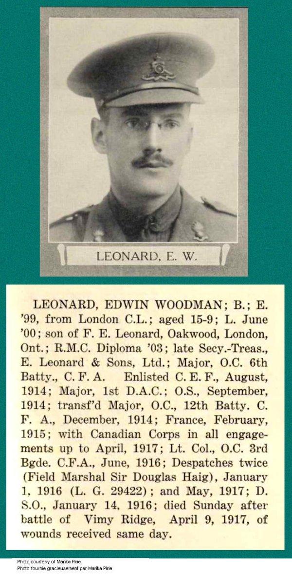 Photo of Edwin Woodman Leonard