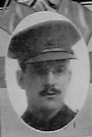 Photo of EDWIN WOODMAN LEONARD– L Col Woodman Leonard as pictured in the December 1918 edtion of The Echo in London Ontario. -- And in the Morning.