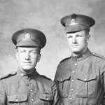 Photo 3 of Ronald Ray Morris– R. R. Morris (left) with an unknown soldier.