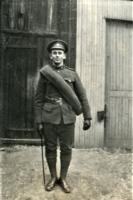 Photo of Clarence Odis Myers– Prior to going overseas. Location and date unknown.
