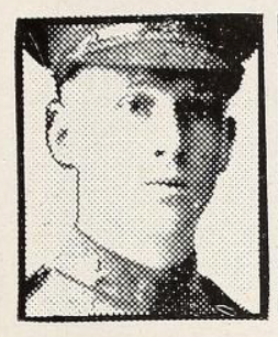Photo of THOMAS JAMES PERCY– Photo from the National Memorial Album of Canadian Heroes c.1919. Submitted for the project, Operation: Picture Me.