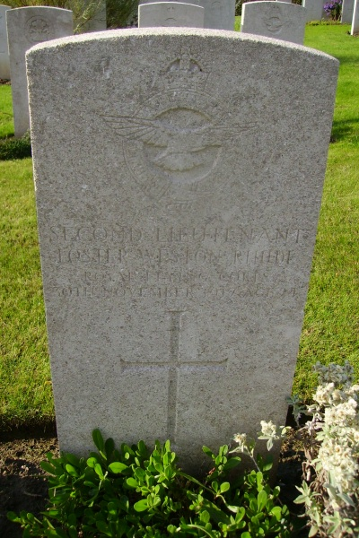 Grave Marker– Grave Marker - Lapugnoy Military Cemetery … photo courtesy of Marg Liessens