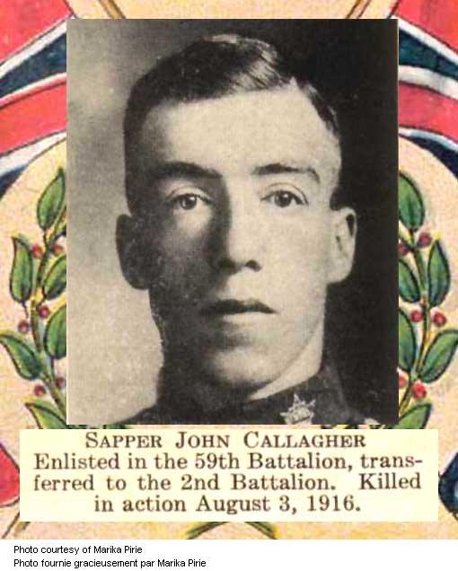 Photo of John George Callagher