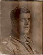 Photo of Clement Spencer– This is a photo of my Grandfather who at the age of 23 died of wounds while serving with the 25th battalion.