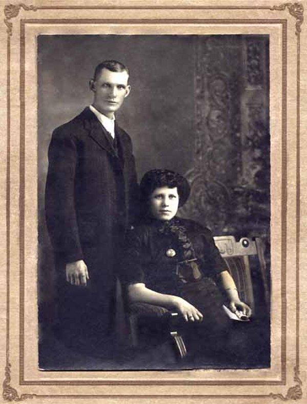 Photo of Henry Herbert Vollick and his wife