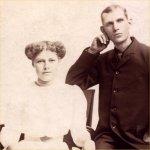 Photo of Henry Herbert Vollick and his sister Loretta Vollick