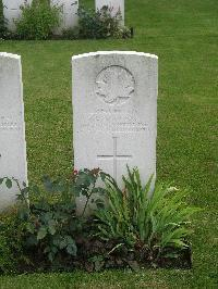 Grave marker– WAR GRAVE  WW1 PROJECT IN TOBERMORE NORTHERN IRELAND