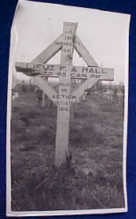 Original Grave Marker– Submitted for the project, Operation: Picture Me