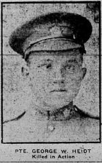 Newspaper clipping– THE CALGARY DAILY HERALD 10 JANUARY 1917